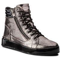 Guess Sneakersy - flvnd3 lel12 pewte
