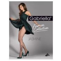 Rajstopy wzorzyste jasmine 20 den lycra , Gabriella