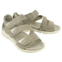 JANA 28600-20 224 lt.grey suede, sandały damskie (4046026831156)