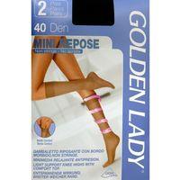 Podkolanówki przeciwżylakowe mini repose| 40 den a'2 marki Golden lady