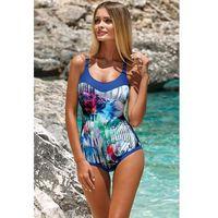 Jednoczęściowy strój kąpielowy kostium jednoczęściowy model l4100/7 chaber - marki Lorin