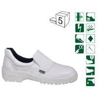 Półbuty białe 909/2F-928 OB Fagum Stomil 45, 1 rozmiar