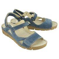 Nik 07-0221-02-9-10-03 niebieski, sandały damskie - niebieski