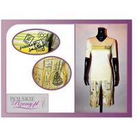 Piżama damska IDA: żółty, kolor żółty