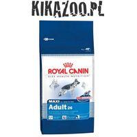 Karma Royal Canin Dog Food Maxi Adult 15kg + DOLINA NOTECI PIPER z sercami z kurcz i ryżem 400g 3182550401937 - odbiór w 2000 punktach - Salony, Paczkomaty, Stacje Orlen (3182550401937)