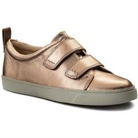 Sneakersy CLARKS - Glove Daisy 261309834 Rose Gold