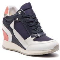 Sneakersy GEOX - D Nydame D540QA 08511 C0899 White/Navy, kolor wielokolorowy