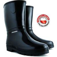 Kalosze damskie Rainny Black rozmiar 37 / 72851 / DEMAR - ZYSKAJ RABAT 30 ZŁ (5906083728518)