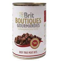 Brit True Meat Bits BEEF - Wołowina kawałki mięsne 400g (8594031444947)