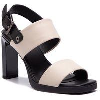 Sandały GEOX - D Jenieve A D92CDA 00043 C0538 Cream/Black, kolor czarny