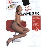 "Rajstopy Glamour Mughetto 20 den ""24h"" 1/2-S, antracit. Glamour, 3-m, 4-l, 1/2-xs/s, 1/2-S"