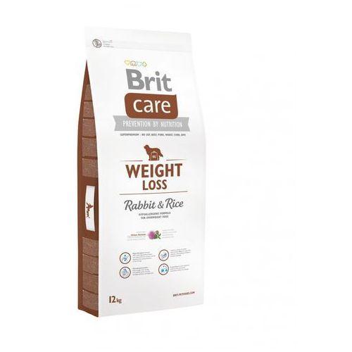 Brit care weight loss, królik i ryż - 2 x 12 kg (8595602510313)