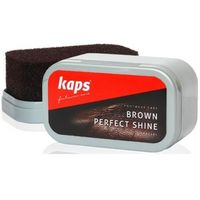 Kaps Brown Perfect Shine gąbka do brązowych butów (5907481120034)