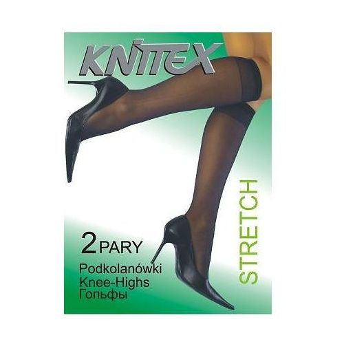 Knittex Podkolanówki stretch a'2 uniwersalny, beżowy jasny, knittex