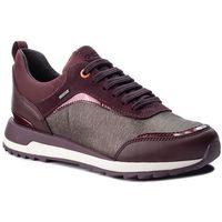 Sneakersy - d aneko b abx a d843fa 0lymc c6m7j coffee/dk burgundy, Geox