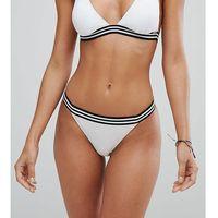 white black tape bikini bottom - multi, Free society