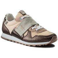 Sneakersy PEPE JEANS - Verona W Elastic PLS30624 Mauve Pink 319