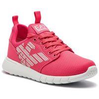 Sneakersy EA7 EMPORIO ARMANI - X8X007 XCC02 00029 Rouge Red, kolor różowy