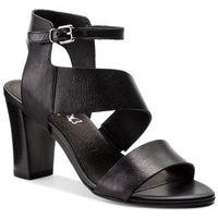 Sandały - 9-28315-30 black nappa 022, Caprice, 37-40.5