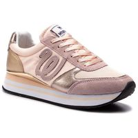 Sneakersy WRANGLER - Jungle WL91530A Pink 082, kolor różowy