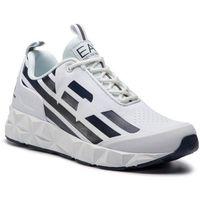 Sneakersy - x8x033 xcc52 b139 white/navy marki Ea7 emporio armani