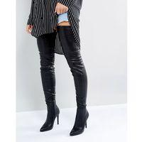 Steve Madden Kristen Over The Knee Boots - Black, kolor czarny