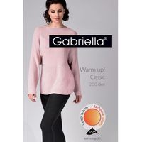 Gabriella warm up! classic 200 den code 409 rajstopy bawełniane