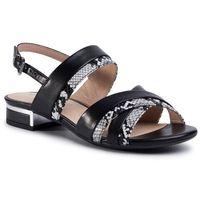 Sandały CAPRICE - 9-28101-24 Black Snake Co 043, kolor czarny