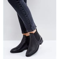 absolute leather chelsea ankle boots - black marki Asos