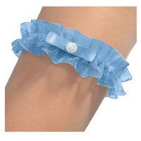Enjoy Podwiązka eva perła rozmiar: uniwersalny, kolor: błękitny, enjoy