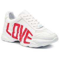 Sneakersy STEVE MADDEN - Memo SM11000443-02002-120 Wht/Red, kolor wielokolorowy