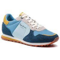 Sneakersy PEPE JEANS - Verona W Pantone PLS30803 Blu 534, kolor niebieski