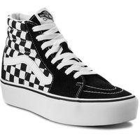 Sneakersy - sk8-hi platform 2 vn0a3tknqxh checkboard/true white, Vans, 35-41