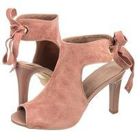 Sandały Sergio Leone Różowe 1493 (SL217-c)