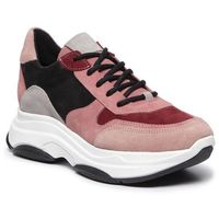 Sneakersy STEVE MADDEN - Zela SM11000314-03002-535 Burgundy Suede, kolor różowy