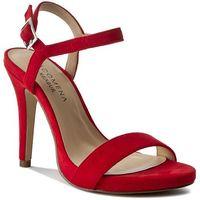 Sandały MENBUR - PACOMENA 07352 Rojo/Red 0007, kolor czerwony