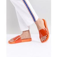 Monki plexi slider in orange - Orange, kolor pomarańczowy