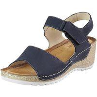 Sandały Wasak 0474 - Granat nubuk