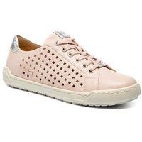 Sneakersy - 9-23550-22 rose waxy napp 513, Caprice