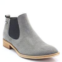1398 szary - klasyczne sztyblety - szary marki Chilli shoes
