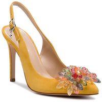 Sandały SOLO FEMME - 34297-A8-G22/000-05-00 Żółty, w 4 rozmiarach