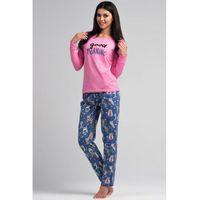Piżama Damska Model SAL-PY 1019 Light Pink, kolor różowy