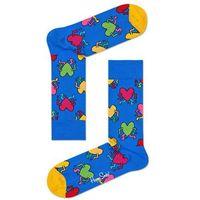 - skarpetki keith haring running heart marki Happy socks