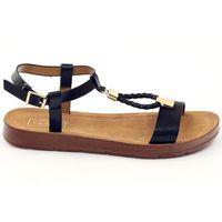 Sandały damskie 104 czarne