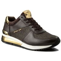 Sneakersy MICHAEL KORS - Allie Wrap Trainer 43R6ALFP2B Brown