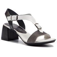 Sandały HISPANITAS - Nerea HV98477 White/Black, w 6 rozmiarach