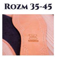 Skórzane wkładki do butów cuir luxe saphir marki Saphir bdc