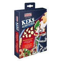 Kaiser / x-mas kolekcje świąteczne Kaiser xmas foremki, wykrawacze do ciastek boże narodzenie 8 sztuk zestaw nr 3