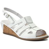 Sandały COMFORTABEL - 710803 Weiss 3, kolor biały