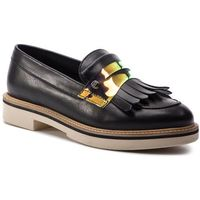 Półbuty TOMMY HILFIGER - Iridescent Detail Loafer FW0FW03930 Black 990